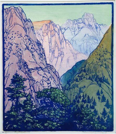 Frances Hammell Gearhart, 'Sierra Sky Scrapers', 1933