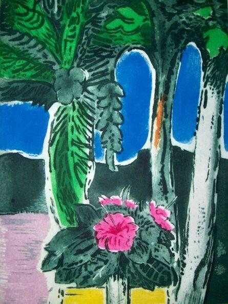 Karl Schrag, 'Blue Arches', 1979