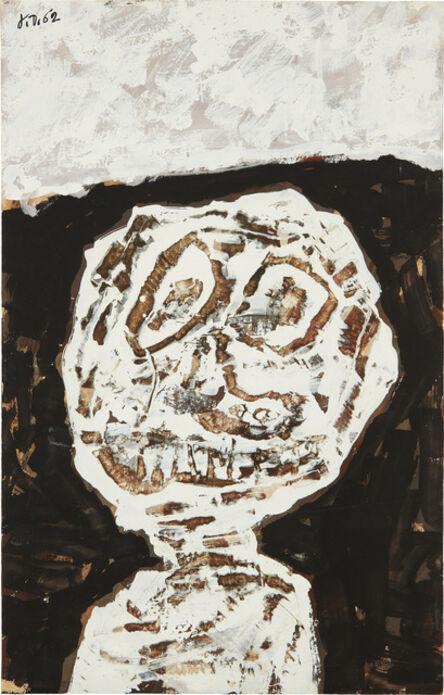 Jean Dubuffet, 'Buste (avec graffiti au couteau)', 22721