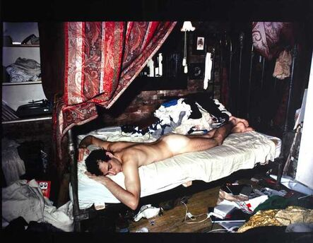 Nan Goldin, 'Kenny on his bed (From the ballad of sexual dependency), 1983', 1983