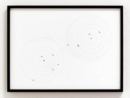 Iñigo Manglano-Ovalle, 'Apophis Orbit Drawing (September 1, 2012, 1.609 AU / April 13, 2029, .0199 AU)', 2012