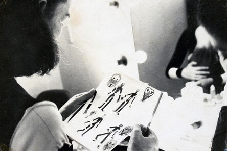 Analivia Cordeiro, 'CAMBIANTES DRESSING ROOM TAKE', 1976