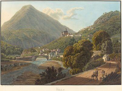 Matthias Gabriel Lory fils, 'Villa', 1811