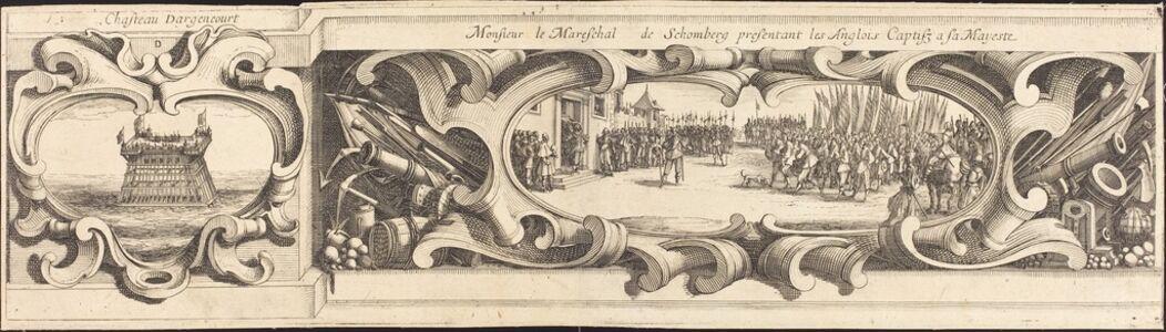 Israel Henriet or Abraham Bosse after Jacques Callot, 'The Siege of La Rochelle [plate 14 of 16; set comprises 1952.8.97-112]', 1628/1631