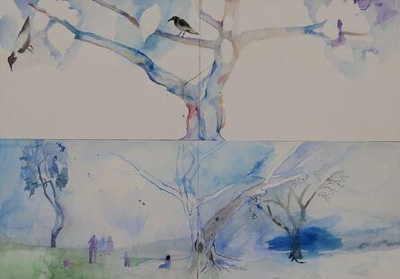 Yoav Hirsch, 'Characters (quadriptych)', 2014