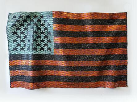 Yaw Owusu, 'African-American Flag', 2020