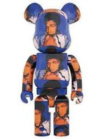 BE@RBRICK, 'Muhhammad Ali by andy Warhol 1000%', 2020