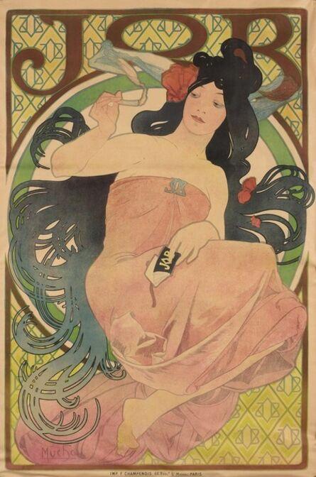 Alphonse Mucha, 'Job (R./W. 51)', 1898