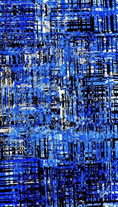 Jorge Enrique, 'Panorama (Berlin) Blue 01', 2017