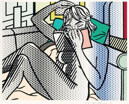 Roy Lichtenstein, 'Nude Reading', 1994
