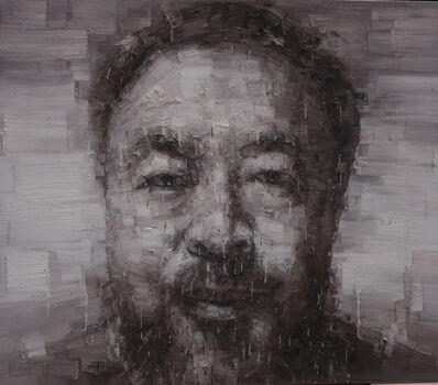 Adam Chang, 'Portrait of Ai Weiwei B', 2015