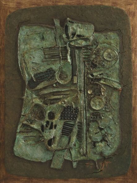 Cheong Soo Pieng, 'Abstract Composition', 1970
