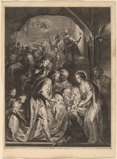 Lucas Emil Vorsterman after Sir Peter Paul Rubens, 'The Adoration of the Magi', 1620
