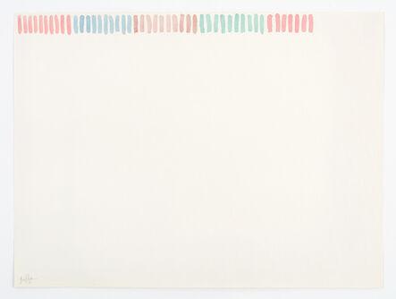 Giorgio Griffa, 'Drawing', 1973