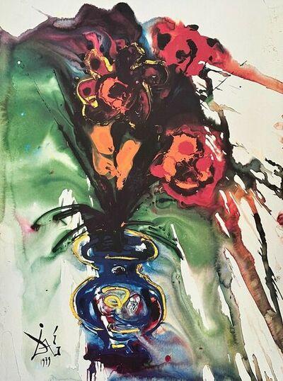 Salvador Dalí, 'Surrealist Bouquet ', 1989