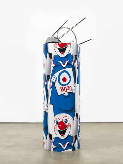 """Kathryn Andrews, '""""Bozo""""™ """"The World's Most Famous Clown"""" Bop Bag with Occasional Performance (Blue Variation)', 2014"""