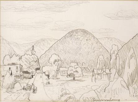 Charles Ephraim Burchfield, 'Sinnamahoning, Pennsylvania', 1939