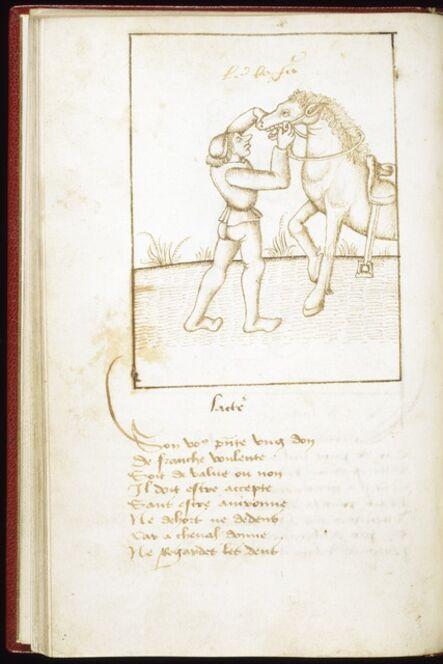 'Leaf from Proverbes en rimes', ca. 1490