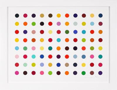 Damien Hirst, 'Horizontal 'Spots' II, Woodcut', 2018