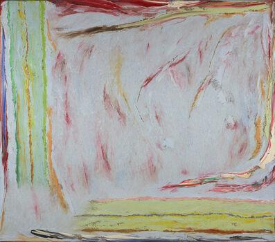 Stanley Boxer, 'Peltingmistsinblossom', 1976