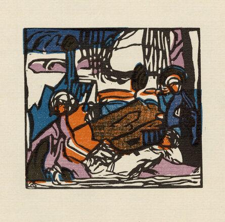 Wassily Kandinsky, 'Weisser Klang', 1911