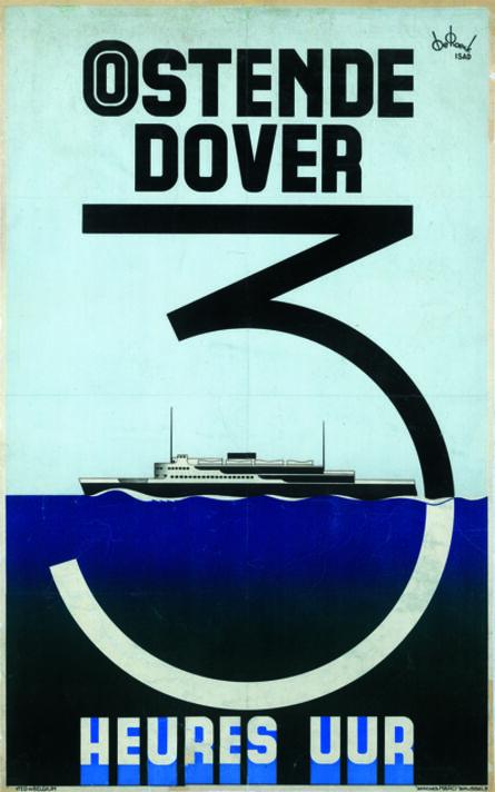 Lucien De Roeck, 'Oostende-Dover', 1935
