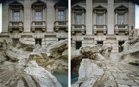 Jordi Bernadó, 'Fontana di Trevi, Roma #01-#02', 2007