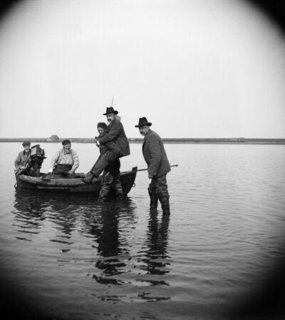 Paul Louis Steenhuizen, 'Richard Tepe Wordt Naar Boot Gedragen Voor Vogelexcursie', 1902