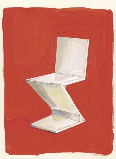 Maira Kalman, 'Zig-Zag Chair', 2014