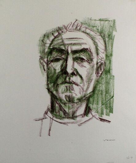 Eduard Bargheer, 'Selbstbildnis', 1965