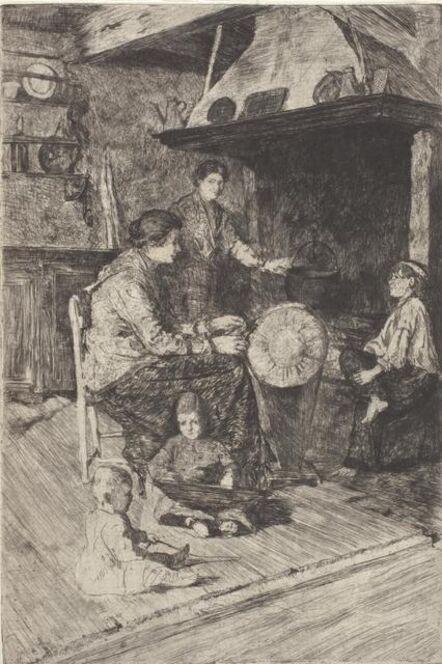 Otto Henry Bacher, 'Merlatrice', 1880s