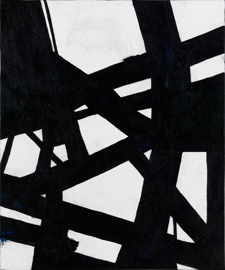 Nicole Yates, 'Black and White Abstract 2', 2020