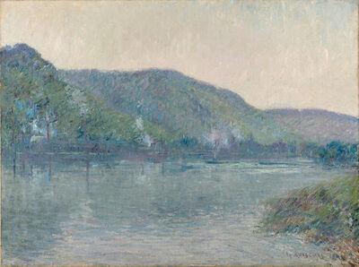Gustave Loiseau, 'Bateaux sur la Seine à Oissel', 1909