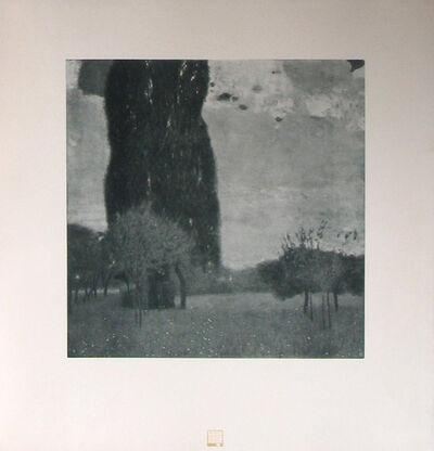 Gustav Klimt, 'The High Poplars [Das Werk Gustav Klimts]', 1914