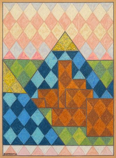 Emil Bisttram, 'Untitled Encaustic Landscape', 1937