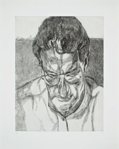 Lucian Freud, 'The Painter's Doctor', 2005-2006