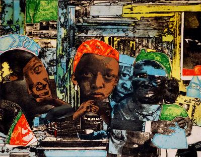 Romare Bearden, 'The Train', 1974
