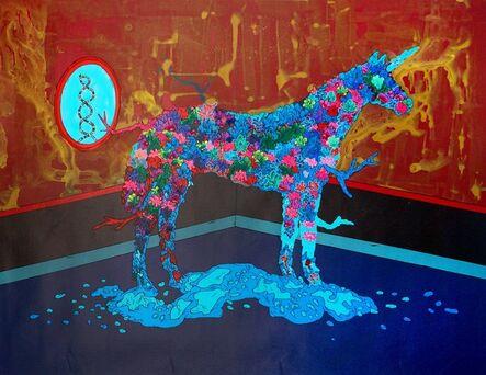 Chang Teng-yuan 張騰遠, 'Super Organic Plant - The Unicorn', 2015