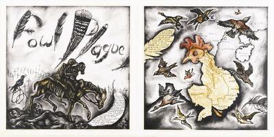Sue Coe, 'Fowl Plague/Vietnam Chicken', 2004