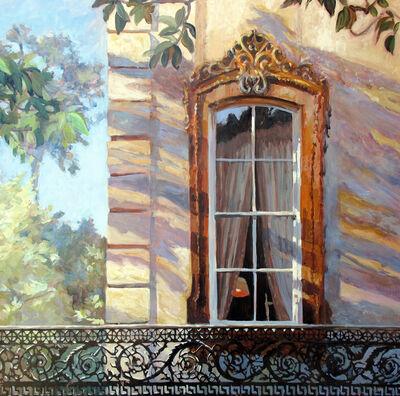 Jann Pollard, 'Bull Street Shadows, Savannah', 2012