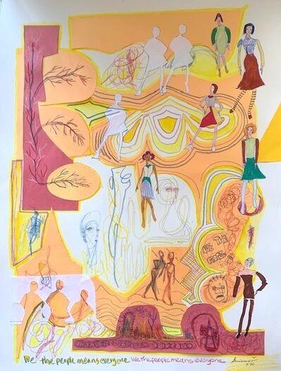 Guiomar Giraldo-Baron, 'We the People', 2020