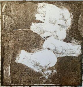 Jamil Naqsh, 'untitled - Four Pigeons ', 2014-2017
