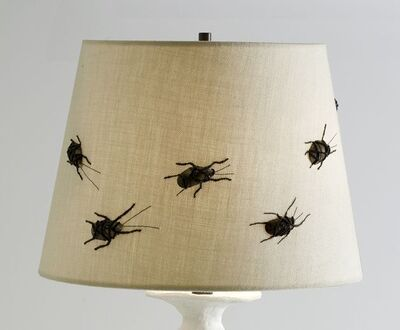Miguel Cisterna, 'Insectes, Lampshade', 2011