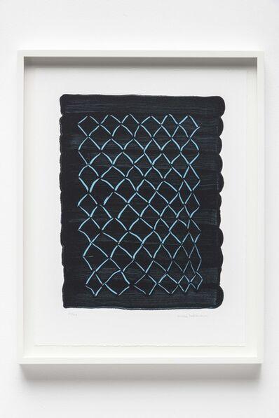 Mona Hatoum, 'Untitled (fence, blue)', 2018