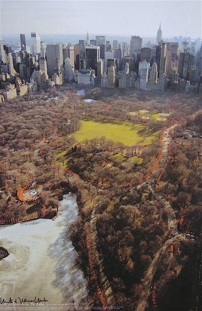 Christo, 'The Gates (w)', 2005