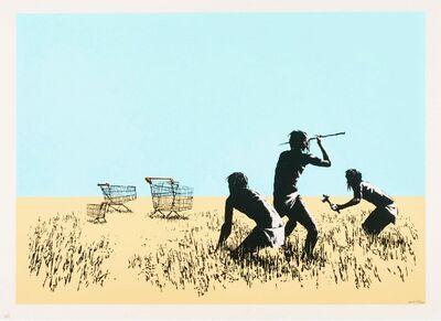 Banksy, 'Trolleys', 2007
