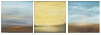Carole Pierce, 'Water, Land, Fire-Triptych', 2014-2015