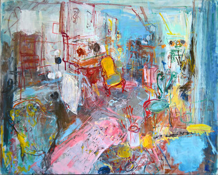 Brigitte Chombart de Lauwe, 'The Artist Studio IV', 2017