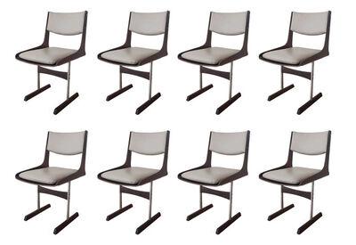 Jorge Zalszupin, 'Set of 8 Dining Chairs', ca. 1960