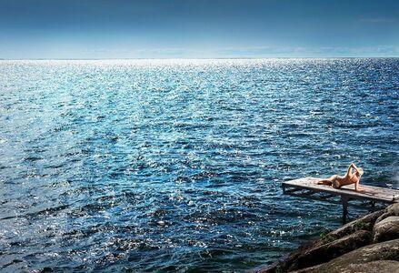 David Drebin, 'Kissing the Sky'